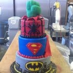 Boy Birthday Superhero Cake | Holland Cakery