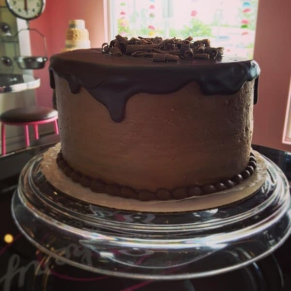 Chocolate Birthday Cake Design   Holland Cakery