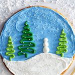 Holiday Desserts | Winter Cookie Cake