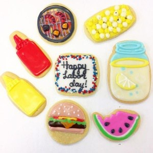 Labor Day Cookie Idea | Holland Cakery 'n' Sweets