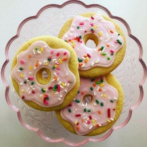 Pink Donut Sugar Cookies | Holland Cakery