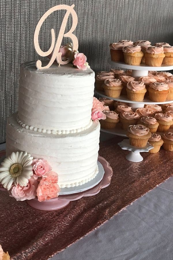 Two Tiered Wedding Cake | Holland Cakery 'n' Sweets