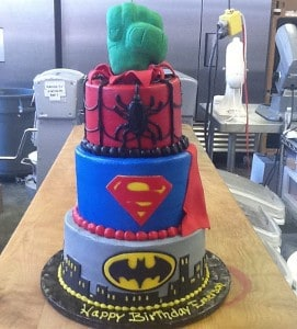 Superman & Batman Birthday Cake | Holland Cakery 'n' Sweets