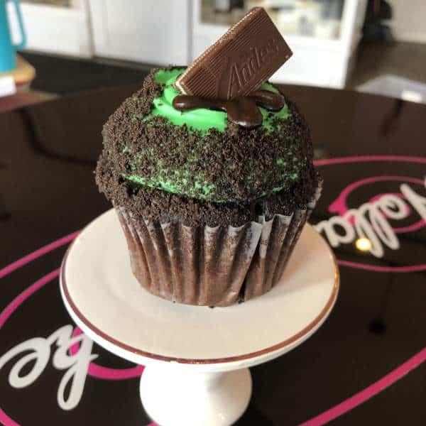 Valentine Cupcakes | Chocolate Mint